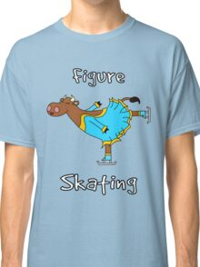 Figure Skating Cow Classic T-Shirt