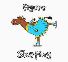 Figure Skating Cow Unisex T-Shirt