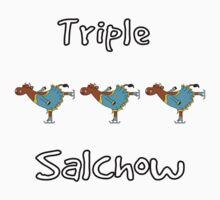 Triple Salchow Cow Kids Clothes