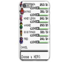 Choose a Big Hero iPhone Case/Skin