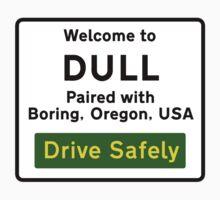 Welcome to Dull, UK Kids Tee