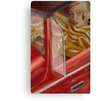Driving Passion Canvas Print