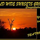 BANNER SUBMISSION - World Wide Sunset Challebge by Magaret Meintjes