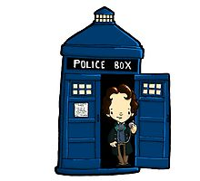 DOCTOR WHO IN TARDIS EIGHTH DOCTOR by Bantambb