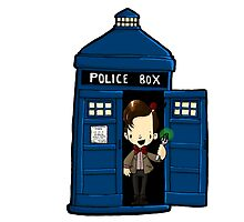 DOCTOR WHO IN TARDIS ELEVENTH DOCTOR by Bantambb