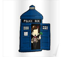 DOCTOR WHO IN TARDIS ELEVENTH DOCTOR Poster