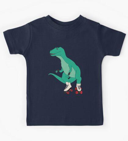 Tyrollersaurus Rex Kids Tee