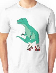 Tyrollersaurus Rex Unisex T-Shirt