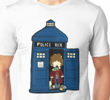 DOCTOR WHO IN TARDIS FOURTH DOCTOR Unisex T-Shirt