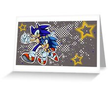 Sonic Generations Greeting Card