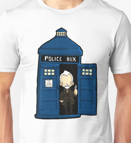 DOCTOR WHO IN TARDIS WAR DOCTOR Unisex T-Shirt