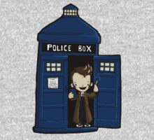 DOCTOR WHO IN TARDIS TENTH DOCTOR One Piece - Long Sleeve