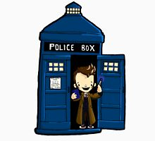 DOCTOR WHO IN TARDIS TENTH DOCTOR T-Shirt