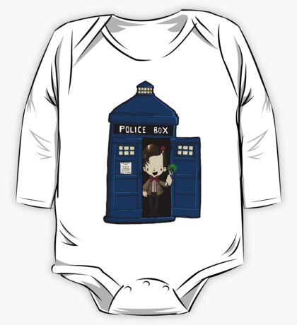 DOCTOR WHO IN TARDIS ELEVENTH DOCTOR One Piece - Long Sleeve