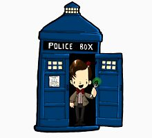 DOCTOR WHO IN TARDIS ELEVENTH DOCTOR Unisex T-Shirt