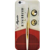Classic Old Vintage Retro Majestic radio iPhone Case/Skin