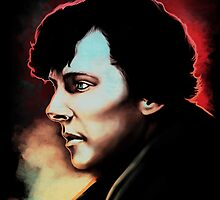 High Functioning Sociopath (Fan Art Print) by sugarpoultry
