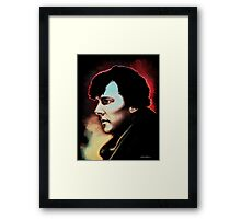 High Functioning Sociopath (Fan Art Print) Framed Print