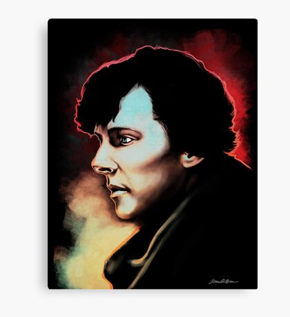 High Functioning Sociopath (Fan Art Print) Canvas Print