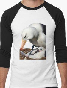 Black-browed Albatross, Falkland Islands Men's Baseball ¾ T-Shirt