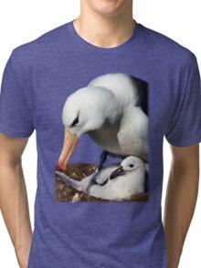 Black-browed Albatross, Falkland Islands Tri-blend T-Shirt