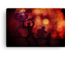 Silhouettes and Shadows Canvas Print