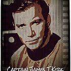 Captain James T Kirk Star Trek by fantasytripp