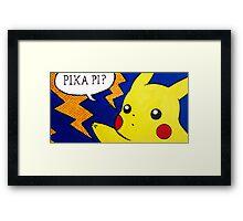 Pop Fusion - Pikachu Framed Print