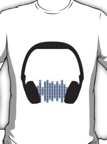 Music Headphone Design T-Shirt