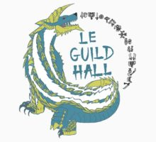 Monster Hunter Le Guild Hall-Zinogre Version 2 Base Colors by S4LeagueProps