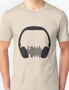 Music Headphone Design T-Shirt