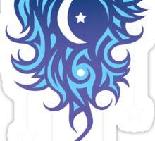 Star Wolf Tribal Sticker