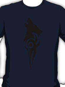 Howling Wolf Tribal T-Shirt