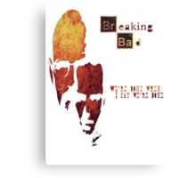 Breaking Bad - Walter And Jesse Awesome Design! Metal Print