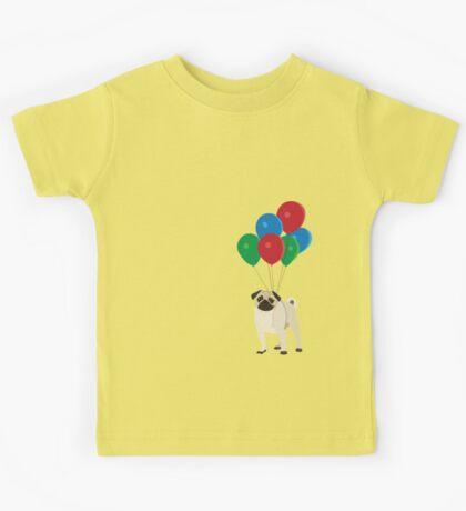 Balloon Pug Kids Tee