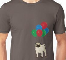 Balloon Pug Unisex T-Shirt