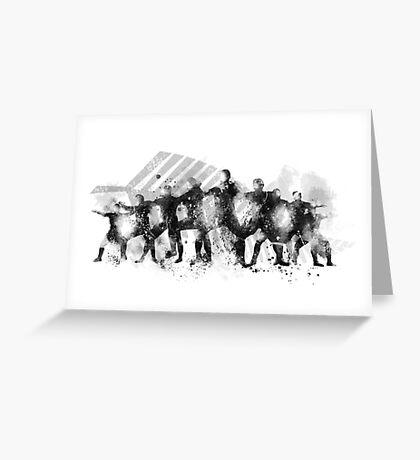 The Haka Greeting Card