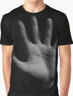 Hello Hand Graphic T-Shirt