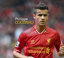 Philippe Coutinho - Design 2 by Nick Bellotti