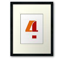Four Twenty Framed Print
