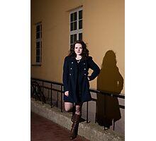 Portrait at night Photographic Print