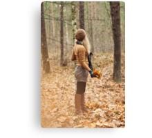 It is autumn Canvas Print