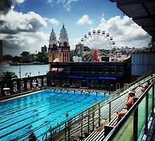 Luna Park/North Sydney Olympic Swimming Pool by Ashley Marie