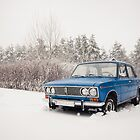 VAZ 2103 in winter by Anete Bauere