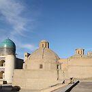 Mosque, Madrassa, Minaret, Bukhara, Silk Road by Jane McDougall