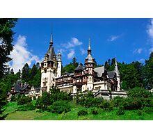 Peles castle Photographic Print