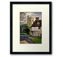 Water Lane Framed Print