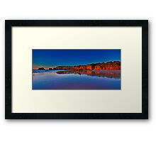 """Rocky Point Reflections"" Framed Print"