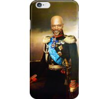 Sir Samuel Leroy Jackson iPhone Case/Skin