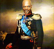 Sir Samuel Leroy Jackson by KAMonkey